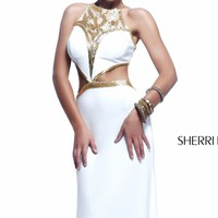 Scoop Neck Gown by Sherri Hill