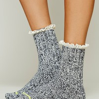 Free People Womens Heathered Highland Boot Sock