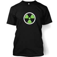 Something Geeky PP - Green Radiation Symbol Adult T-shirt Inspired By The Hulk  The Avengers
