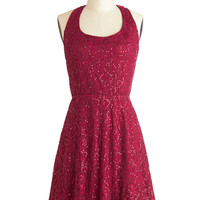Mulled Wine Party Dress | Mod Retro Vintage Dresses | ModCloth.com