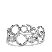 Infinity Link Bracelet with Diamonds