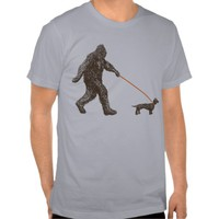 Sasquatch's Best Friend Tees