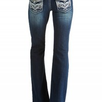 DAKOTA FLARE SCROLL PREMIUM JEANS