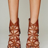 Jeffrey Campbell for Free People Womens Nicky Caged Heel -