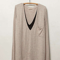 Layered V-Neck