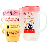 KIKI'S Delivery Service 850ml Pitcher w/ 4cups