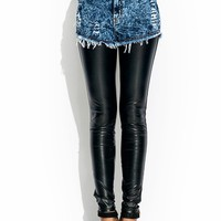 2-In-1-Faux-Leather-Pants DKBLUE - GoJane.com