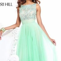 Empire Cut Long Dress by Sherri Hill