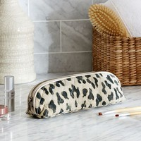 LEOPARD BRUSH CASE
