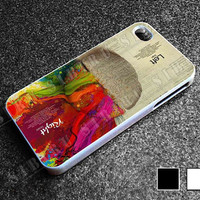 Left Brain Right Brain 2 for iphone 4/4s case, iphone 5/5s/5c case, samsung s3/s4 case cover in sibiru