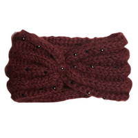 Bling Knot Knitted Headwrap