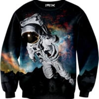 ☮♡ Galaxy Astronaut Sweater ✞☆