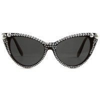 Noir Miss Fifi Sunglasses