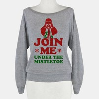 JOIN ME- Under the Mistletoe