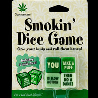 Stoneware Smokin Dice Game