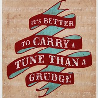 Carry a Tune Print | BRIKA - A Well-Crafted Life