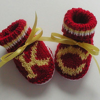Baby Booties Kansas City Chiefs Super Fan