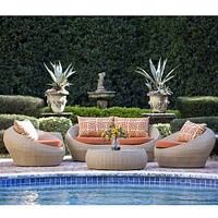 Neoteric Palm Outdoor Sofa at HomeInfatuation.com.