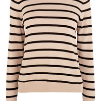 Stripe Collar Jumper