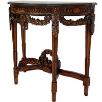 Oriental Furniture Queen Victoria Console Table