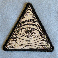 Eye of Providence Iron on Patch
