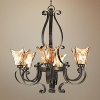 "Uttermost Vetraio Collection 31"" Wide 6-Light Chandelier - #18172 