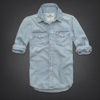 Woods Cove Denim Shirt