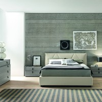 Esprit - Modern Italian Eco-Leather Bed