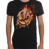 The Hunger Games: Catching Fire Logo T-Shirt