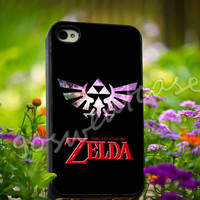Legend of Zelda Triforce Custom Nebula Galaxy - for iPhone 4/4s, iPhone 5/5s/5C, Samsung S3 i9300, Samsung S4 i9500 Hard Plastic Case