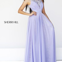 Embellished Evening Gown by Sherri Hill