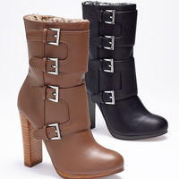 Multi-buckle Shearling Boot - VS Collection - Victoria's Secret