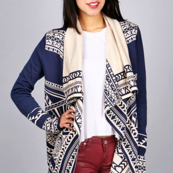 Tribal Torrent Cardigan