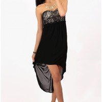 The Milan Evening High Low Dress - 29 N Under