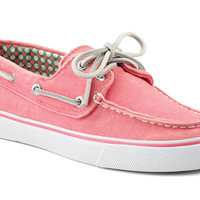 Women's Canvas Bahama Boat Shoe