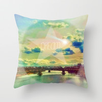Sweet Dreams Throw Pillow by DuckyB (Brandi)