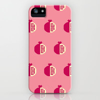 Fruit: Pomegranate iPhone & iPod Case by Christopher Dina