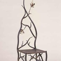 Autumns Throne by Rachel Miller: Steel Copper Chair | Artful Home