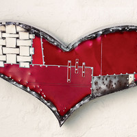 Chubby Heart by Anthony Hansen: Metal Wall Art | Artful Home