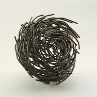 Spin by Andrea Waxman Mulcahy: Metal Sculpture | Artful Home