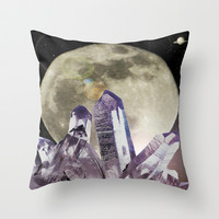 View from a Nomad Planet Throw Pillow by DuckyB (Brandi)