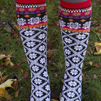 Socks by Sock Dreams » .Socks » Knee Highs » Shasta Knee High