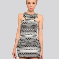 OUT OF LINE ANGULAR DRESS