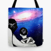 WIDESCOPIC Tote Bag by Chrisb Marquez
