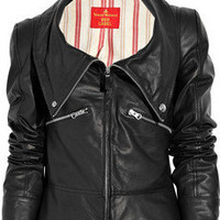Vivienne Westwood Red Label | Leather jacket | NET-A-PORTER.COM