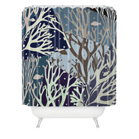 Belle13 The Ocean Shower Curtain