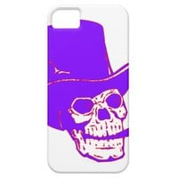 purple skelleton iPhone 5 covers