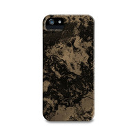 Taupe Marble iPhone 5 Case, iPhone 4, iPhone 4S, Samsung Galaxy S4, iPhone5 Case, iPhone Cover, Brown Black Abstract Galaxy Phone Case