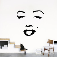 Marilyn Wall Decal at Art.com