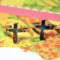 Precious Crosses Ring